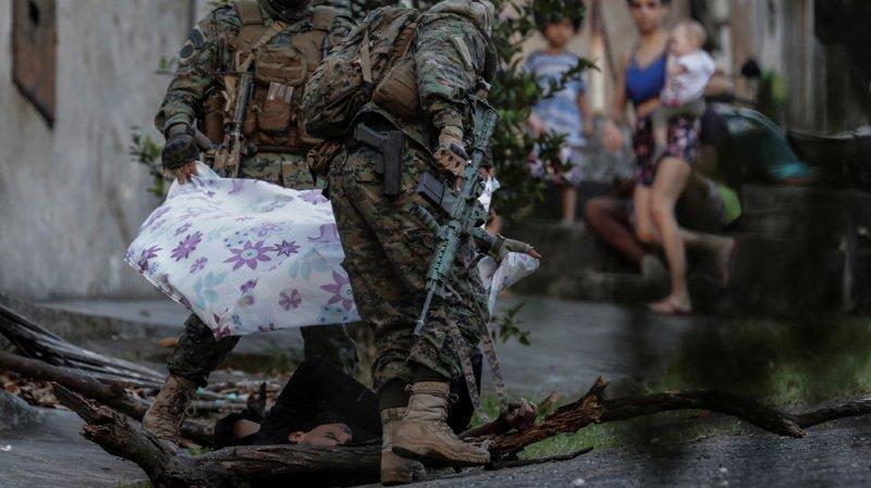 Brésil: une gigantesque opération policière lancée contre une faction criminelle