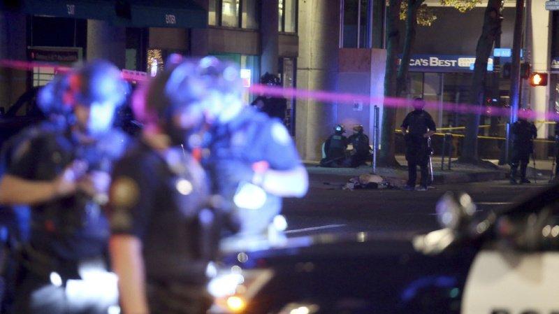 Etats-Unis: un mort à Portland lors d'une manifestation antiraciste