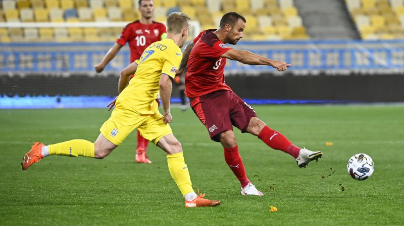 Football - Ligue des nations: la Suisse battue par l'Ukraine