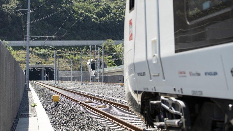 Trafic ferroviaire: panne dans le tunnel du Ceneri (TI), 150 passagers évacués