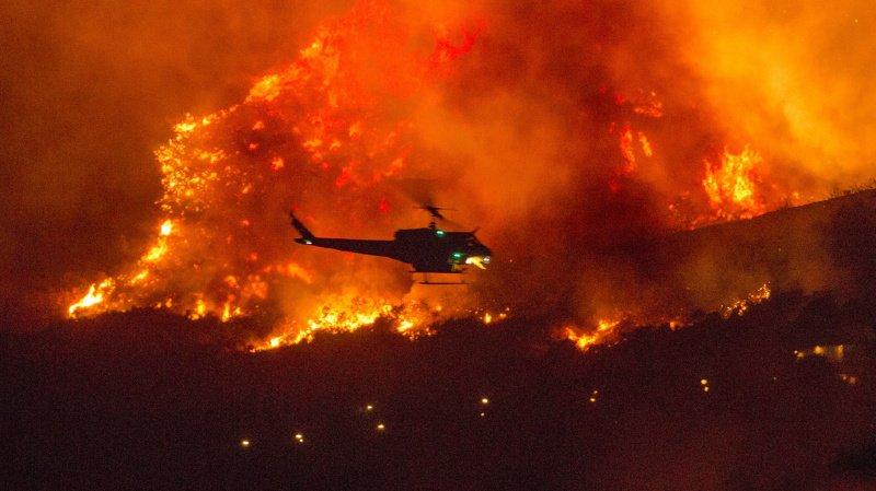Les incendies font des ravages [Vidéo — Californie
