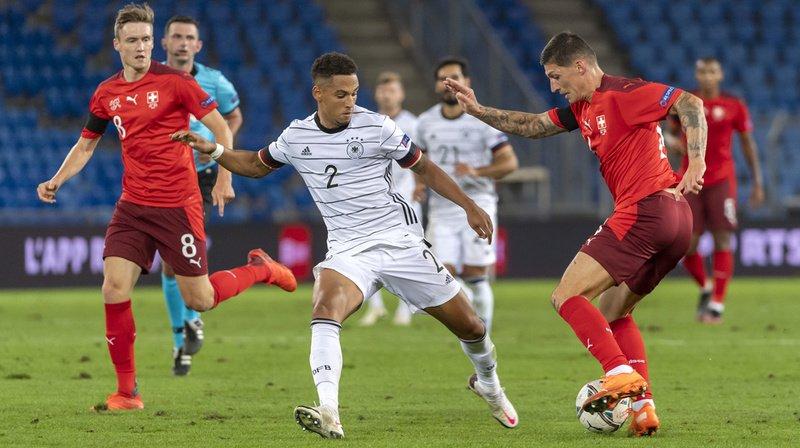 La défaite contre l'Ukraine et le match nul contre l'Allemagne n'ont pas aidé les Suisses au classement FIFA (archives).
