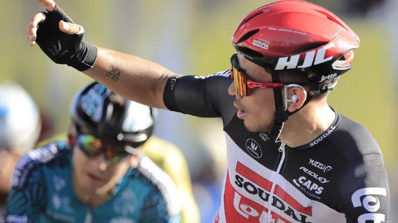 L'Autsralien signe sa seconde victoire sur ce Tour après son succès à Sisteron à l'occasion de la 3e étape.