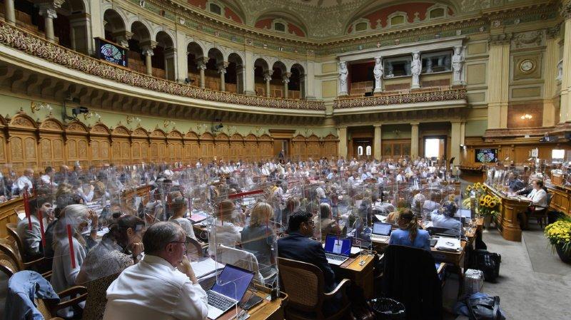 La session d'automne des Chambres fédérales doit durer jusqu'au 25 septembre.