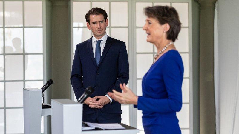 Coronavirus: la Suisse et l'Autriche sont satisfaites de leur entraide durant la crise