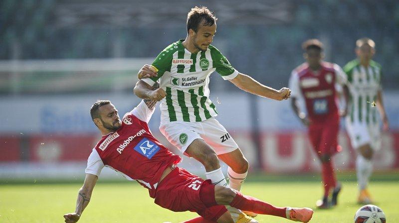 Super League: le FC Sion débute le championnat avec une première défaite à Saint-Gall