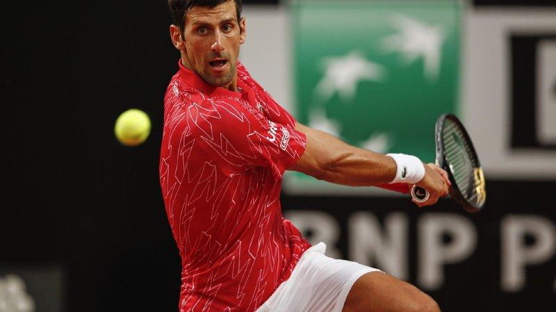 Tennis – Masters 1000 de Rome: Djokovic sacré pour la 5e fois