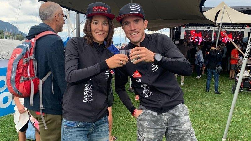 Emily Vaudan et Mickaël Nançoz, héros de la traversée de leur Valais