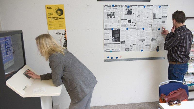 Le Valais, seul canton romand à connaître une baisse du chômage en août