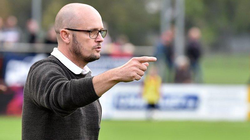 Le Covid-19 met Cédric Strahm et les joueurs de la première équipe du FC Monthey en pause forcée jusqu'au 19 septembre.