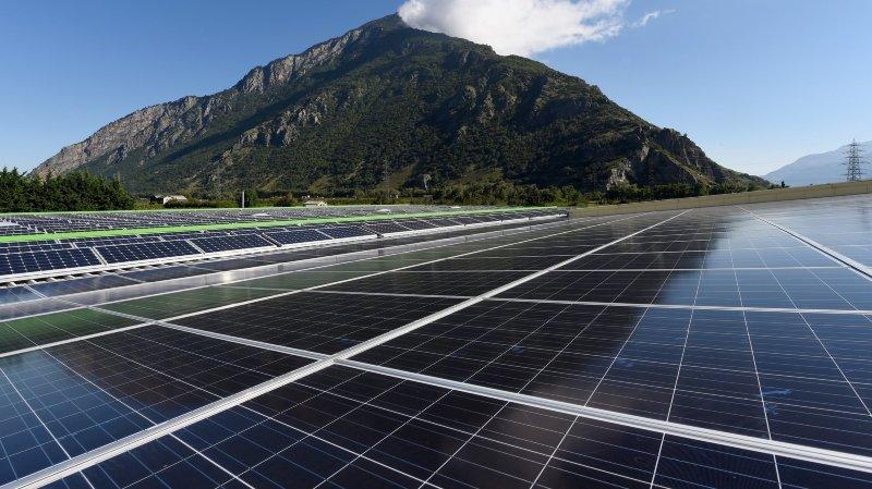 Valais: le solaire peine à prendre son envol définitif