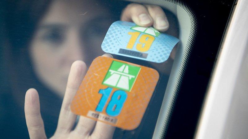 Les automobilistes pourront opter pour une vignette électronique dès 2022 (archives).