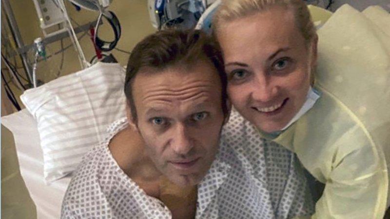 L'opposant russe Alexeï Navalny se rétablit doucement