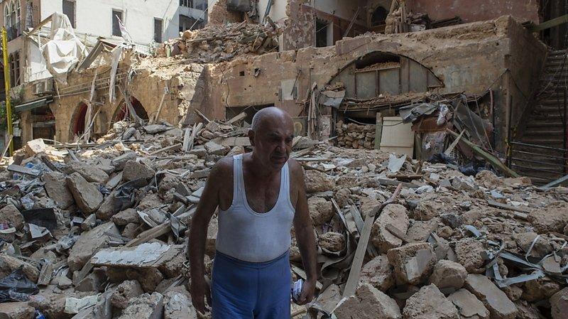 L'explosion tragique survenue le 4 août au port de la capitale libanaise a fait plus de 190 morts et 6500 blessés et a laissé 300'000 personnes sans logis.