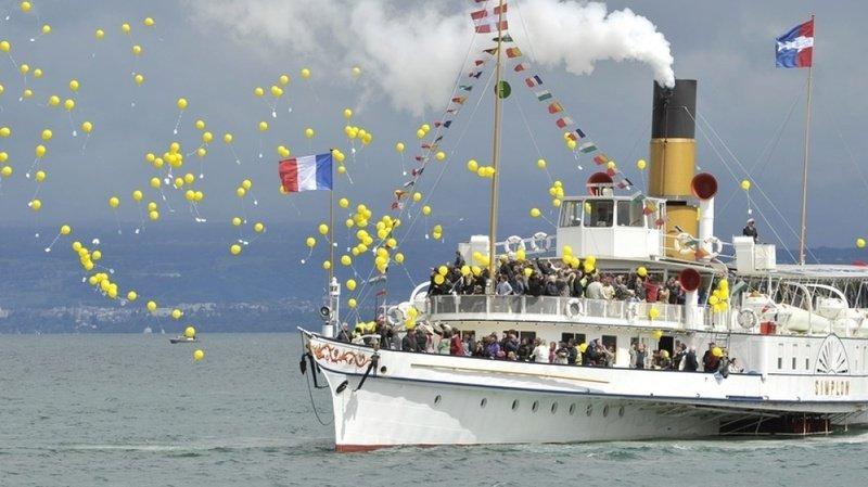 Navigation sur le Léman: le bateau à vapeur de la CGN le «Simplon» fête ses 100 ans