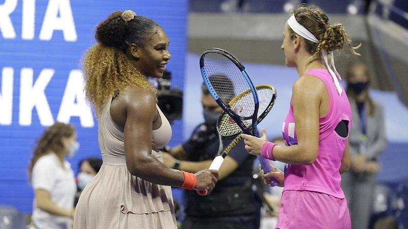 Rien à faire pour Serena Williams (à gauche) face à Victoria Azarenka.