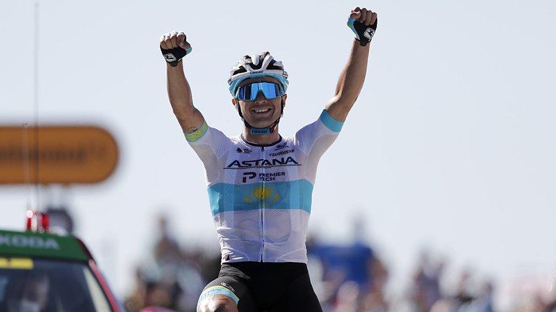 Cyclisme – Tour de France: le Kazakh Alexey Lutsenko gagne la 6e étape