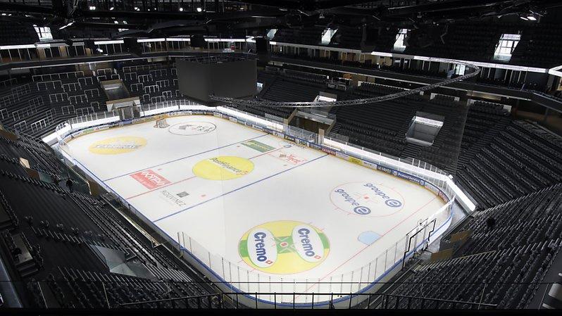 Hockey: la nouvelle patinoire de Fribourg Gottéron est prête