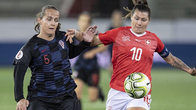 Football - Euro 2021: les Suissesses perdent deux points en Croatie