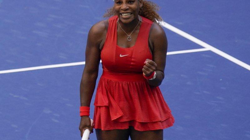 Tennis – US Open: cela passe pour Serena Williams