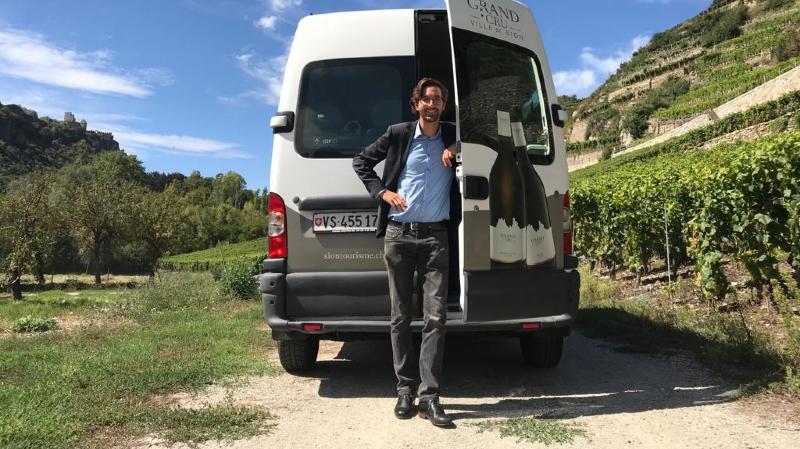 Le Wine Bus des Encaveurs de la ville de Sion fonctionnera tous les samedis dès le 5 septembre, de 11 à 18 heures. Réservations souhaitées.