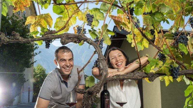 Des Caves ouvertes mythiques: Isabella et Stéphane Kellenberger