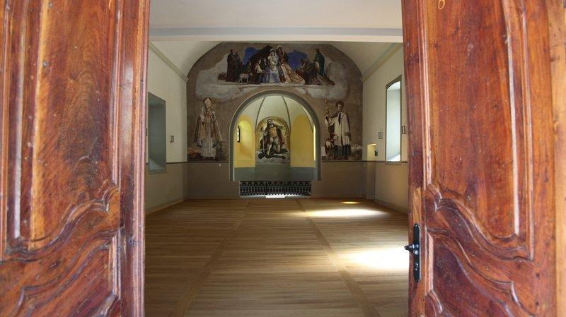 Martigny-Bourg: chapelle devenue lieu culturel, l'Espace Saint-Michel ouvre ses portes