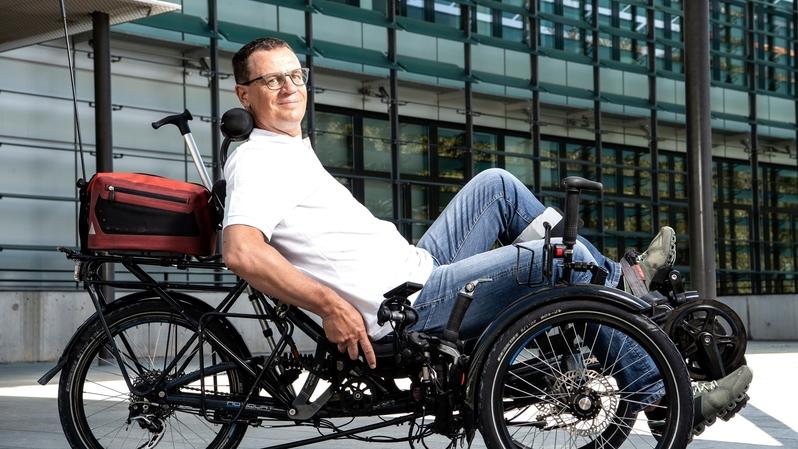 Christian Salamin, hémiplégique, avalera 5400 km pour sensibiliser la population aux conséquences de l'AVC