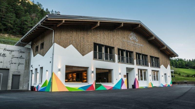 Un look moderne et innovant pour la laiterie d'Orsières, dont les produits sont désormais commercialisés sous une nouvelle identité visuelle.
