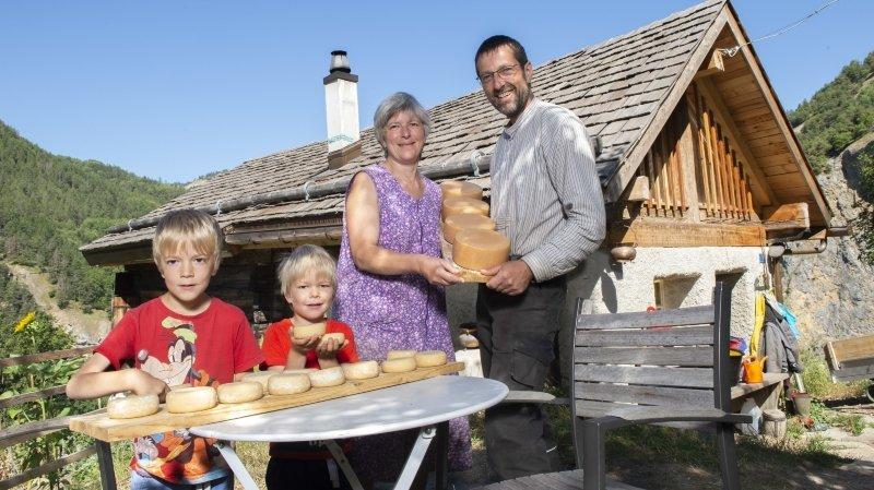 Anniviers: des fromages naturels produits en toute liberté