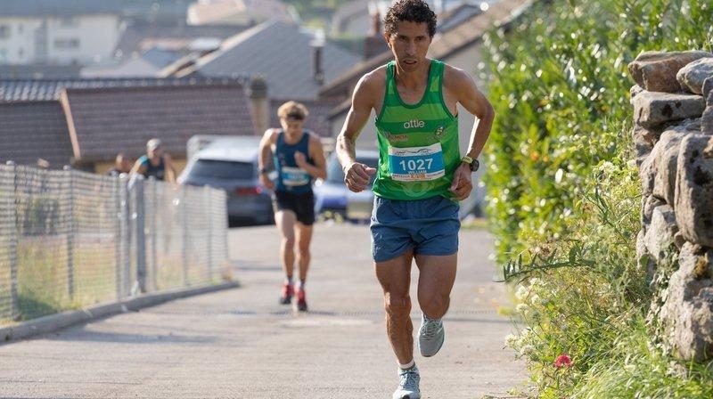 William Rodriguez reçu trois sur trois sur les courses à pied de montagne valaisannes
