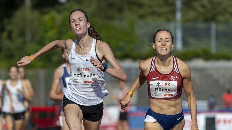 Athlétisme: Lore Hoffmann domine Selina Büchel et s'offre le titre national