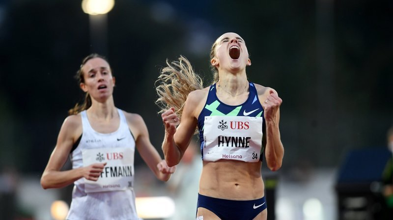 Athlétisme: «Je ne me croyais pas capable de courir aussi vite en 2020», reconnaît Lore Hoffmann
