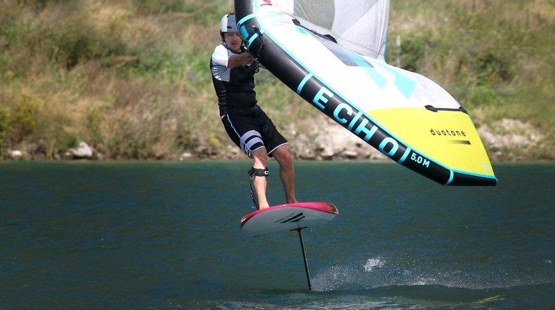 Le wing foil, le sport de glisse qui décolle