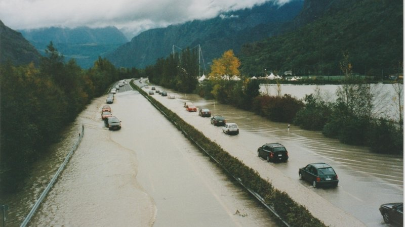 Rhône 3: une crue dévastatrice le 15octobre 2000