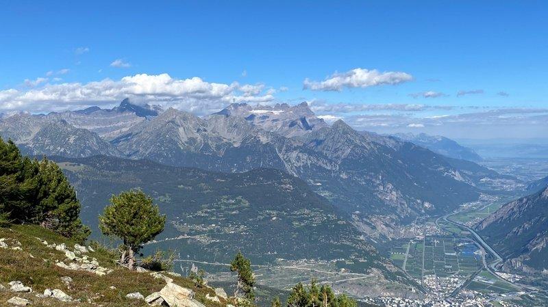Le parc régional de la vallée du Trient réunirait des communes de plaine et de montagne autour d'une seule entité axée sur un développement économique durable.