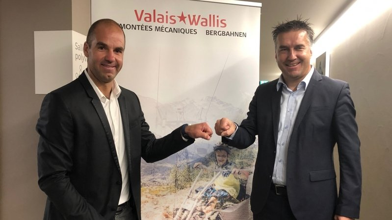 Le champion olympique Didier Défago à la tête des remontées mécaniques du Valais