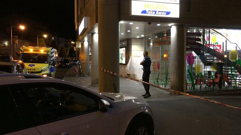 La police a bouclé la zone du kebab du Pont-Neuf, samedi soir, pour les besoins de l'enquête.