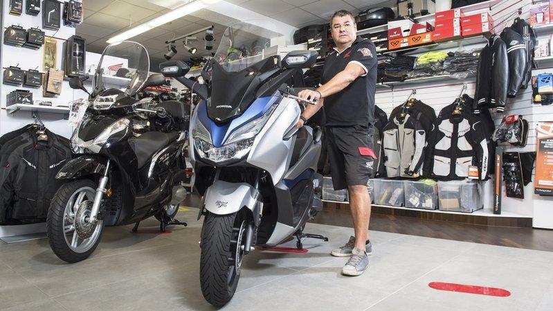 Valais: la crise liée au coronavirus entraîne une pénurie de motos neuves dans certains garages