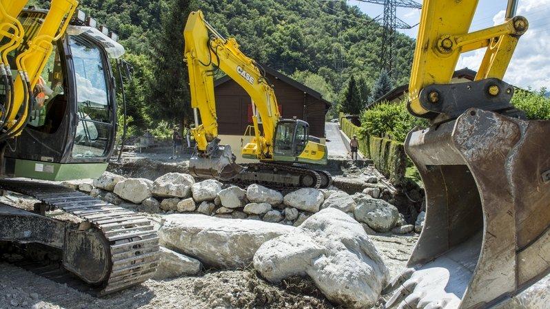 Chippis: un dépassement de 2,3 millions pour la Navizence et ses projets annexes