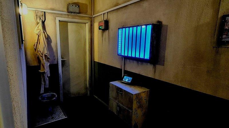 Dans ce jeu ouvert mercredi, les joueurs doivent désamorcer une bombe dans un asile de fous abandonné.