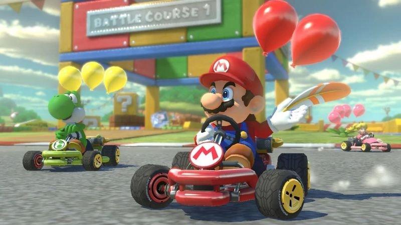 Martigny: un tournoi avec Mario