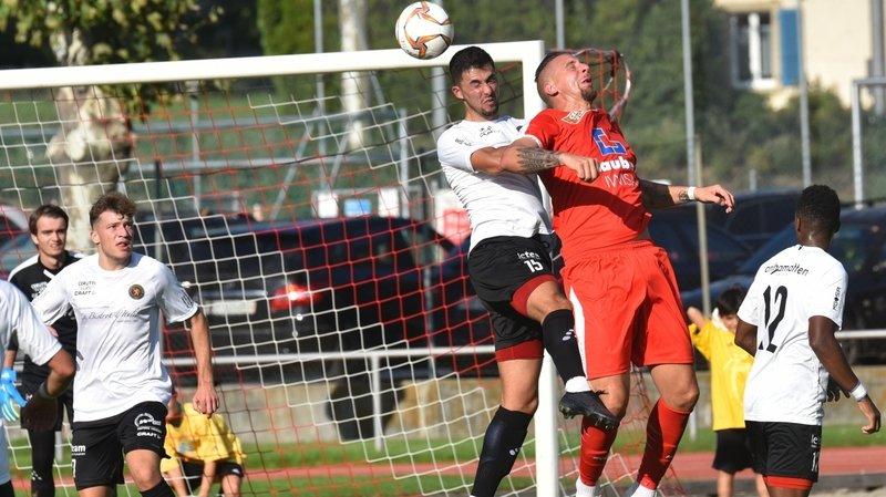 Premiers buts et premier succès pour le FC Martigny-Sports