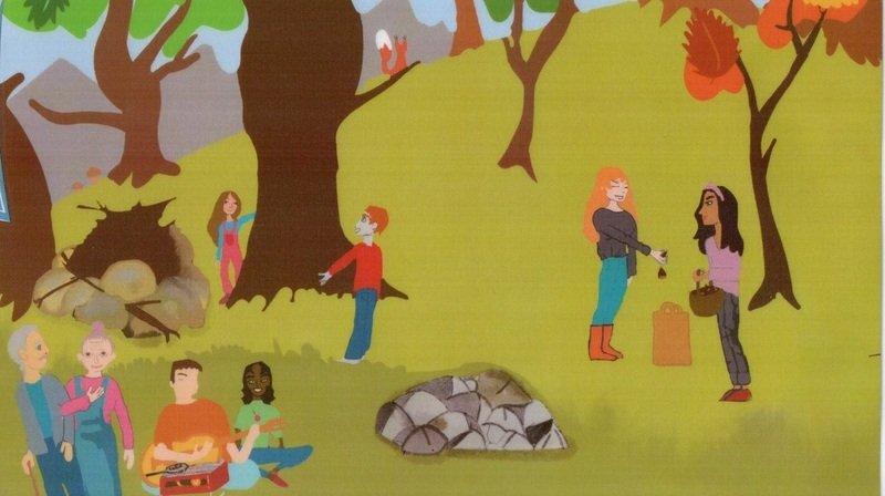 Saint-Gingolph: la nuit du conte fête son anniversaire à la châtaigneraie