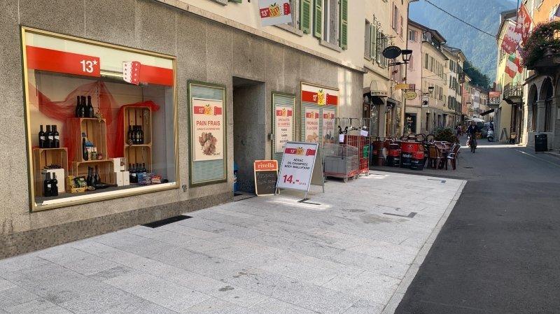 Martigny: la poste du Bourg transférée chez 13* PAM