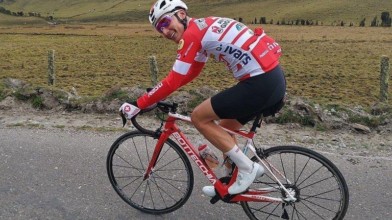 Cyclisme: Simon Pellaud, de retour à la compétition, a repris ses bonnes habitudes