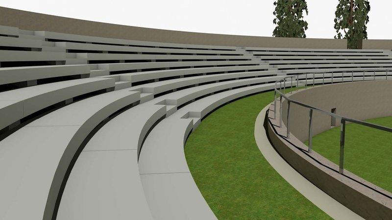 D'ici à la fin de l'année, les gradins en bois de l'amphithéâtre de Martigny seront remplacés par des gradins en béton. Mais la structure antique demeurera identique.