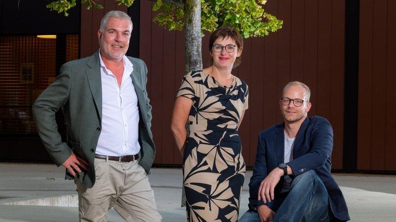 Olivier Turin, Véronique Chervaz et Patrick Oberson sont candidats au Conseil municipal.