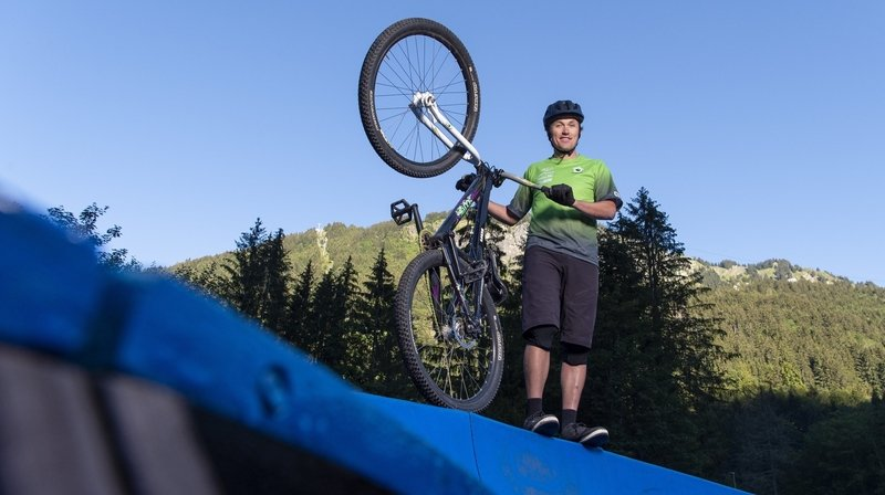 En Valais, le pumptrack a le vent dans le dos