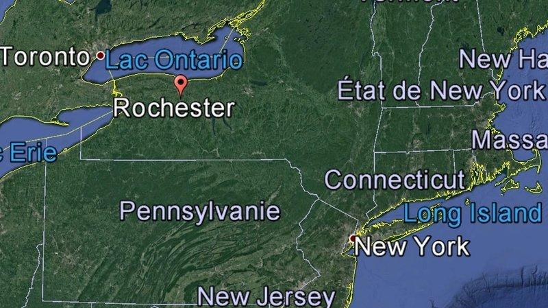La fusillade a éclaté dans l'arrière-cour d'une maison, à Rochester, dans l'Etat de New York.